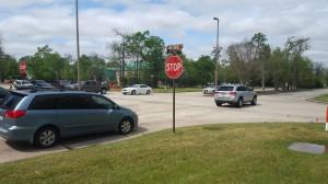Intersection Construction - Lake Front Circle at Six Pines Drive